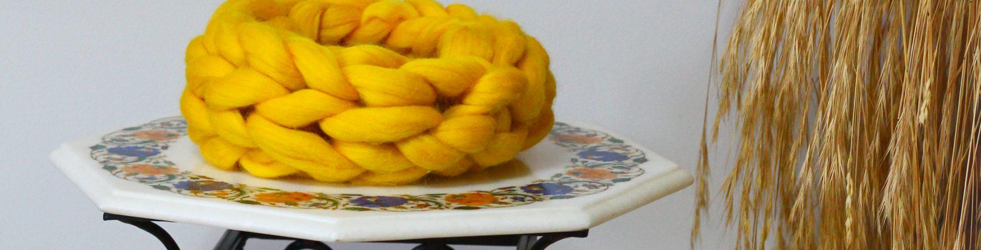 lana merinos, merinocraft, fular circular
