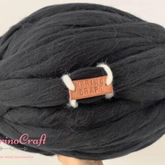 ghem lana merinos negru