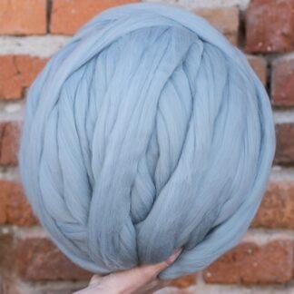 Lana merinos baby blue