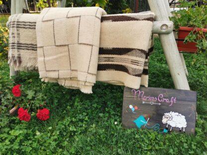 Patura din lana naturala Etno