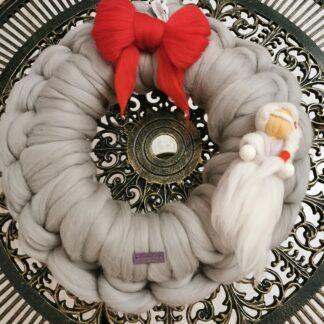 Coronita Craciun lana merinos (4)